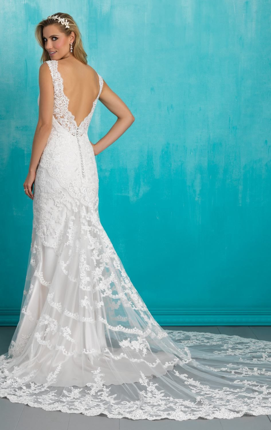 Allure 9304 by Allure Bridals | Wedding Dress | Pinterest | Allure ...