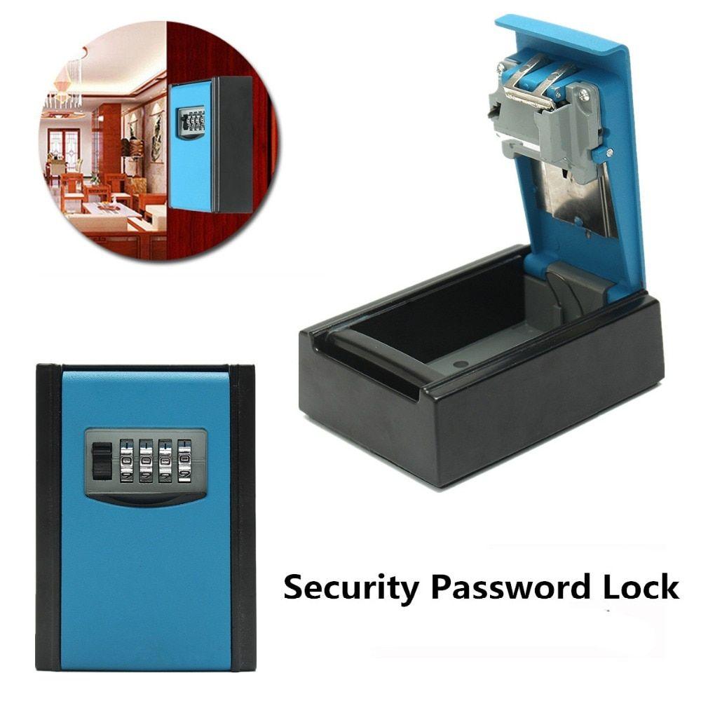 NEW Safurance 4 Digit Combination Password Safety Key Box