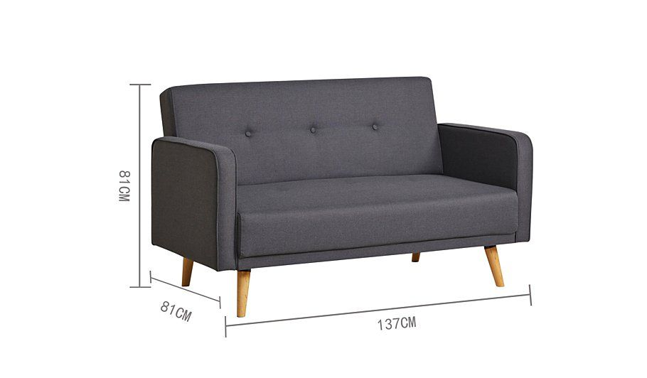 George Home Ramona Compact Sofa in Various Colours, read