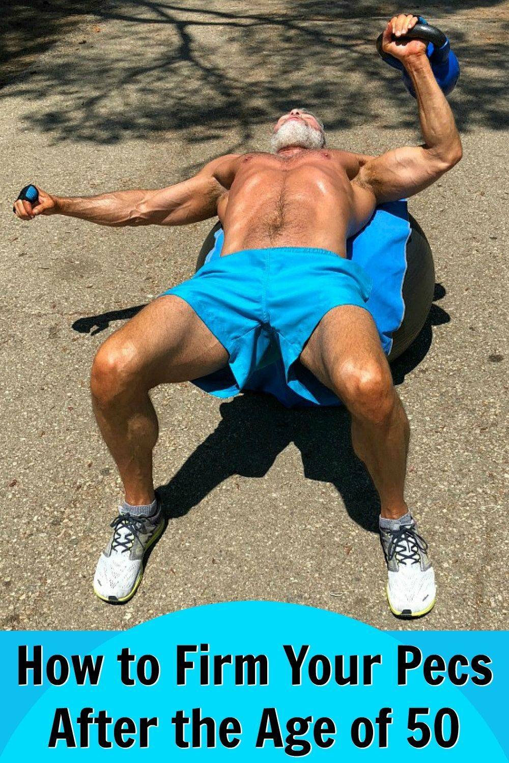 Try this complete chest workout to firm, shape, lift, and build your chest after the age of 50. (For...