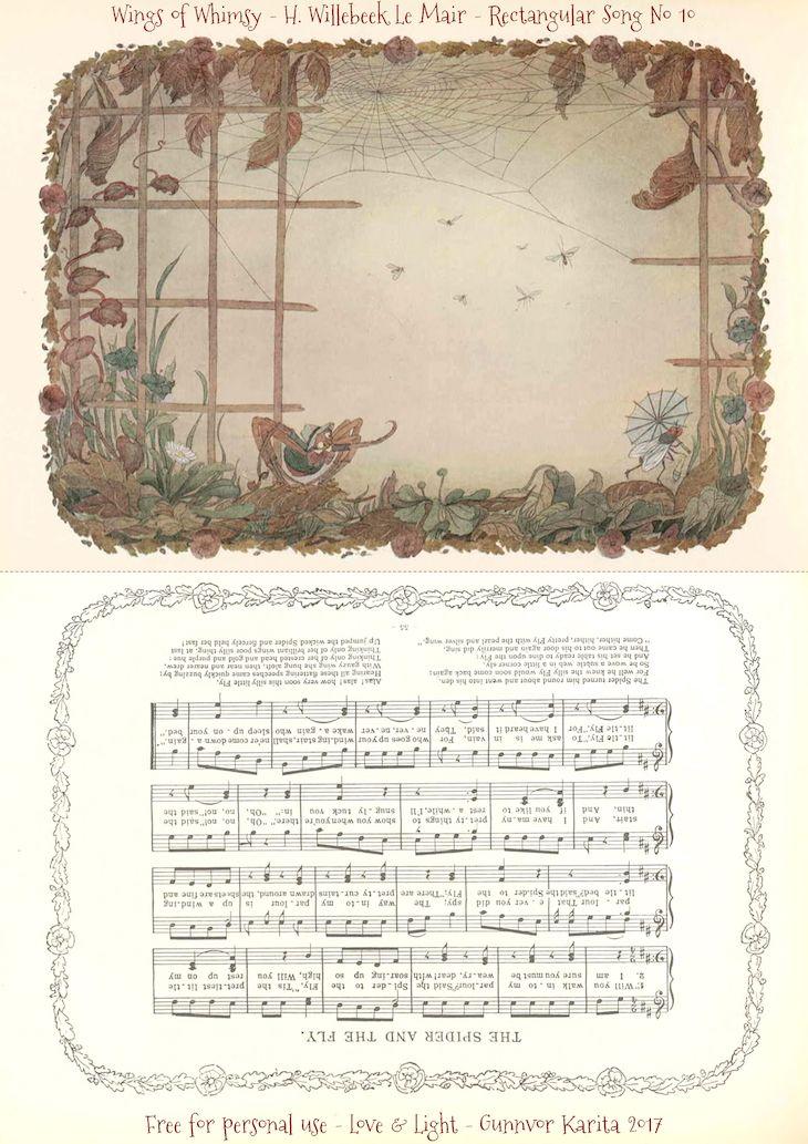 1912 Henriette Willebeek Le Mair – Rectangular Songs | Books