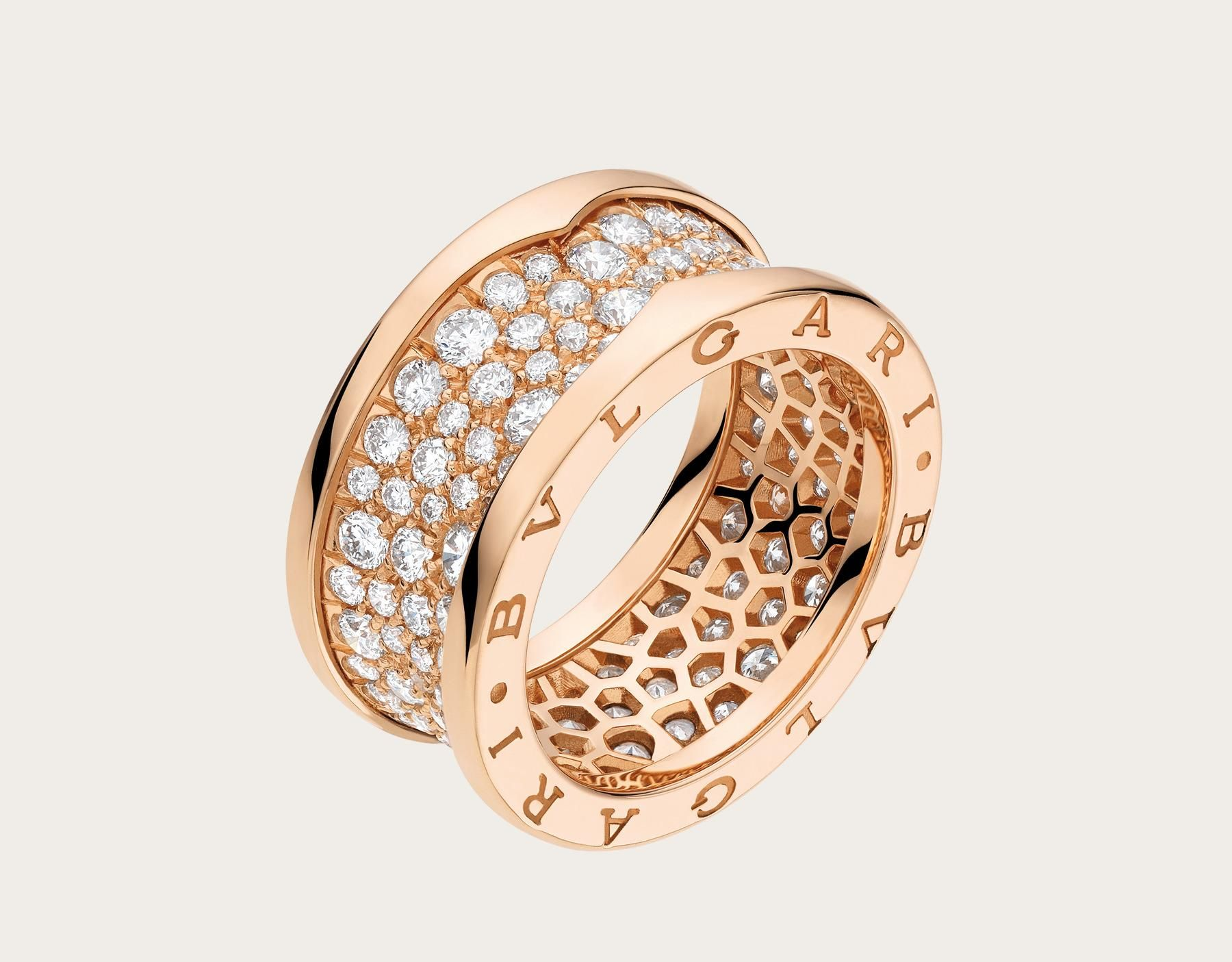 Ring bzero an bvlgari womenus jewelry u watches