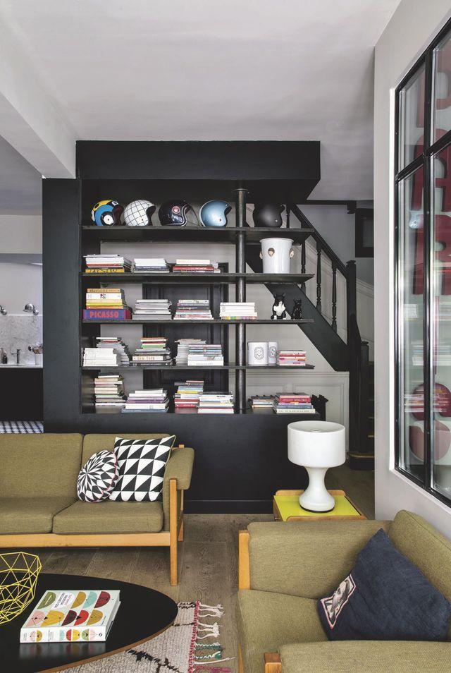 Maison moderne à Paris 10e : déco design et authentique | привет ...