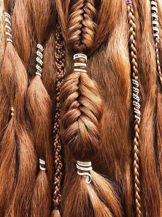Haar Manschette Perlen Haar Zöpfe oder Dreads nicht benutzerdefinierte Haare be… – Alice
