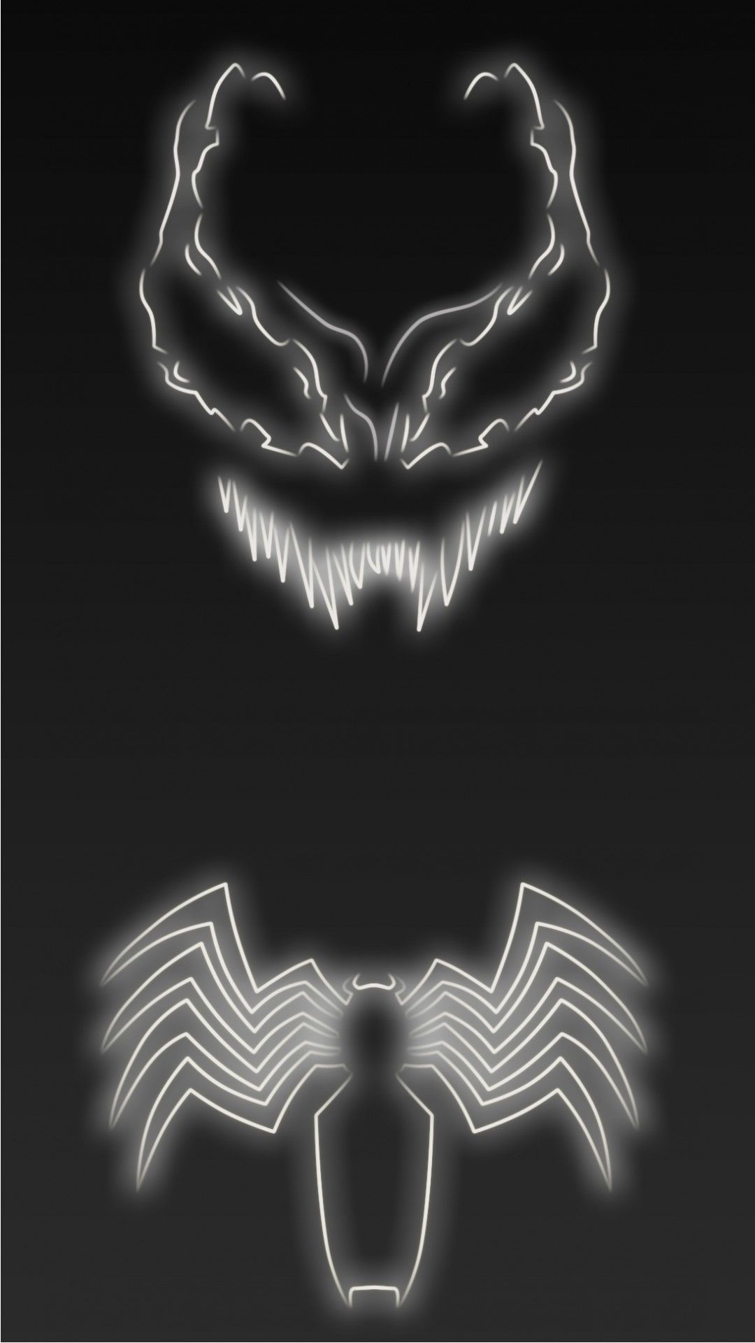 Neon Light Venom 1080 X 1920 Wallpapers Disponible En Téléchargement