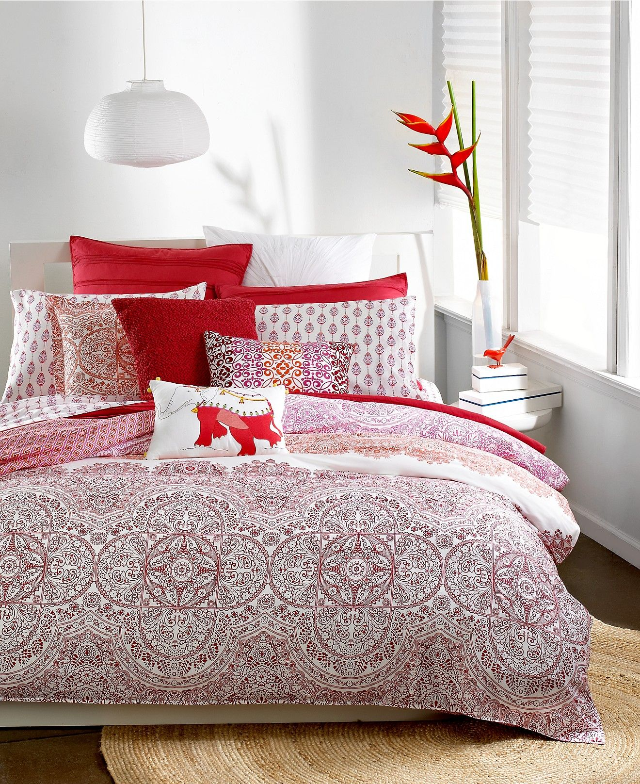 Bar Iii Henna Bedding Collection  Duvet Covers  Bed