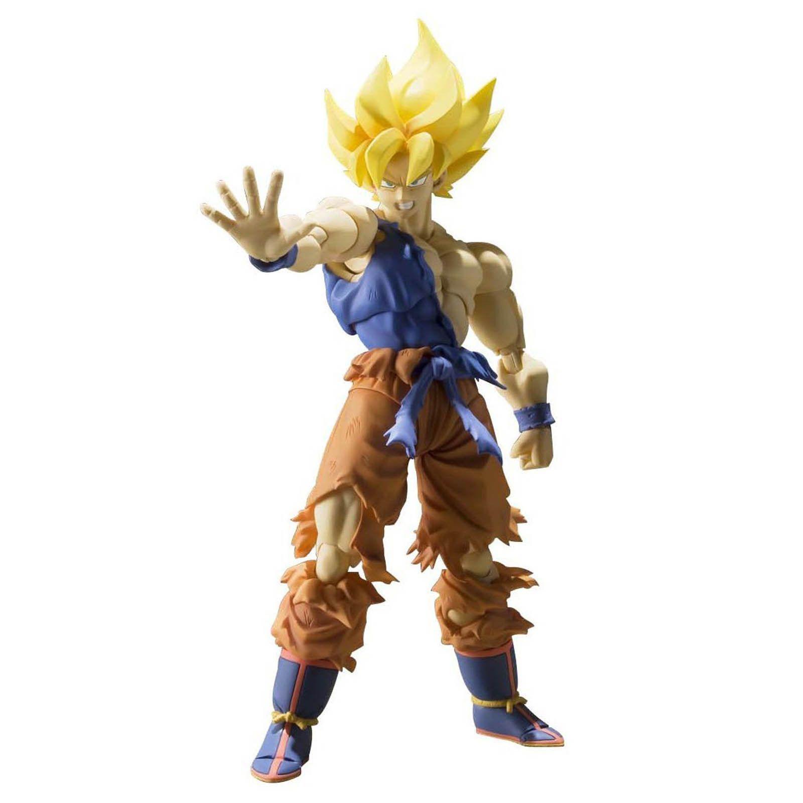 Dragon Ball Z Action Figure S.H Figuarts Son Goku A Saiyan Raised On Earth 15cm