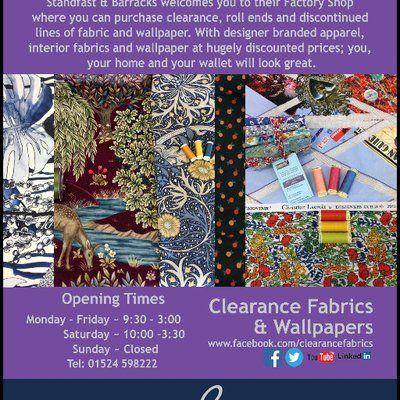 Fabric Factory Shop Standfast Barracks Print Liberty