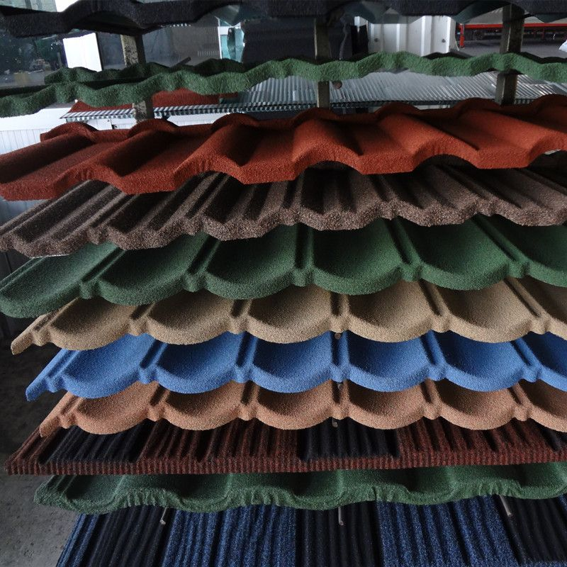 Roofing Tile Building Materials Good Stone Coated Metal
