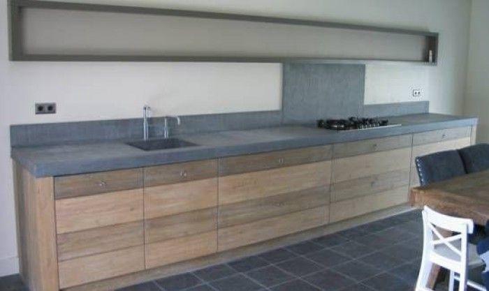 Top zelf keuken maken | Hout - Keuken - Bathroom, Terrazzo en Kitchen VL13