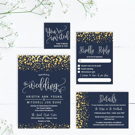 Printable Wedding Invitations With Rsvp Elegant Wedding Invitation