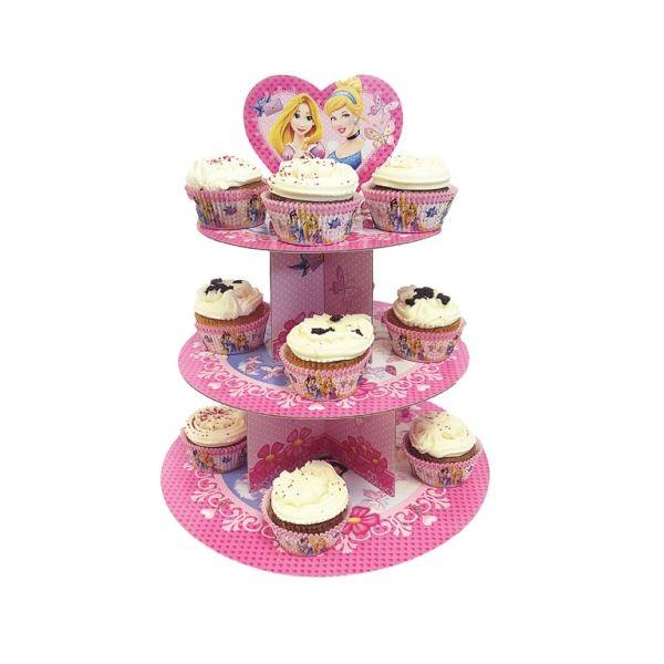 Alzatina per cupcake Principesse Disney™ su VegaooParty ...