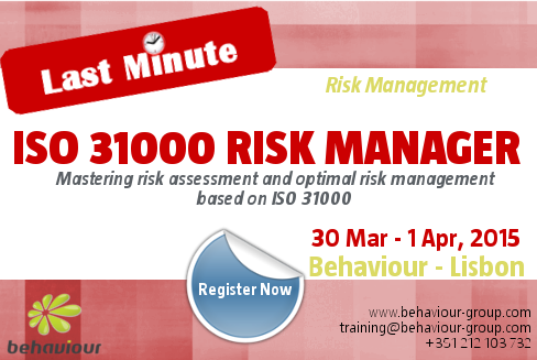 Last Minute Registration For Iso  Risk Manager Course