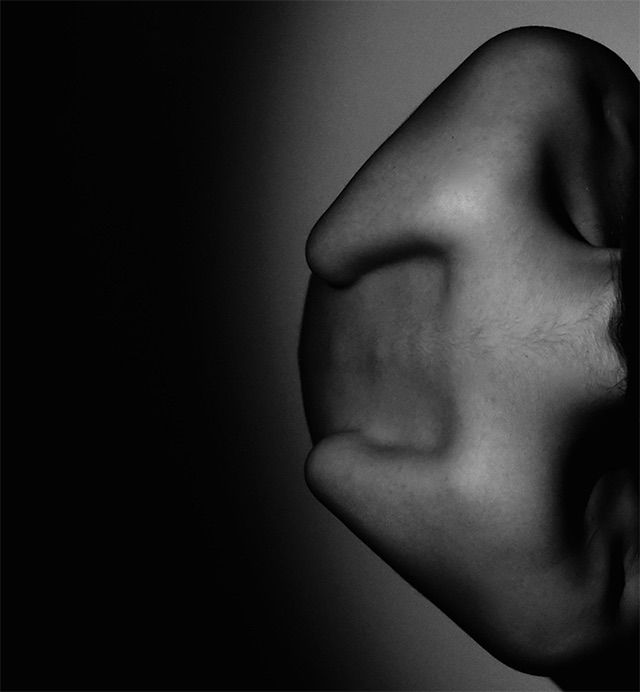 Photo of Troubling and Inhuman Self-Portraits by Borbála Földes