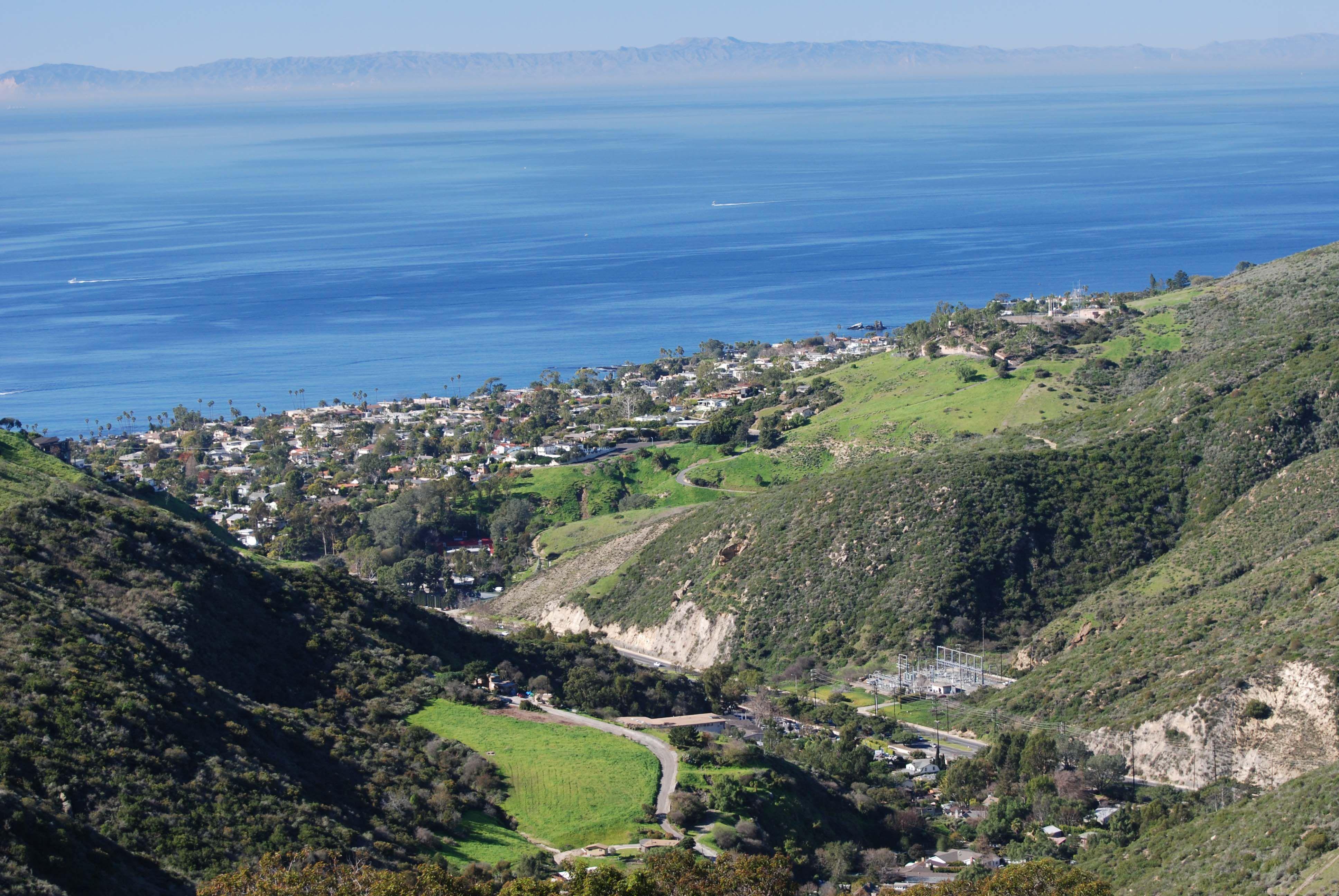 Best hiking/biking Laguna Beach Top of World Laguna