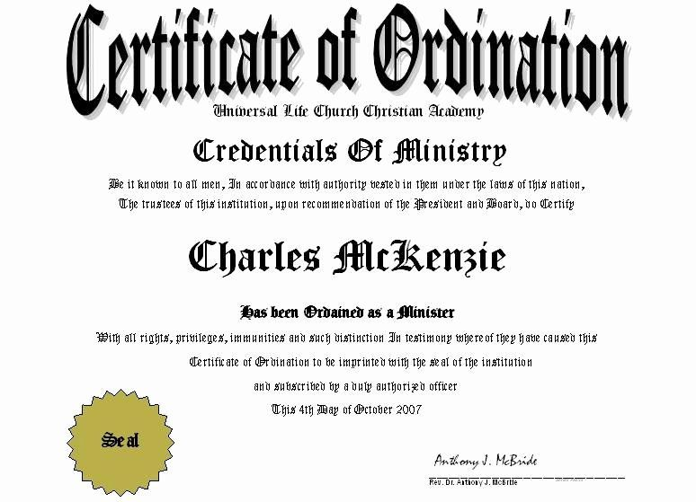 20 Certificate Of License For The Gospel Ministry Templat Certificate Of Recognition Template Certificate Design Template Certificate Of Achievement Template
