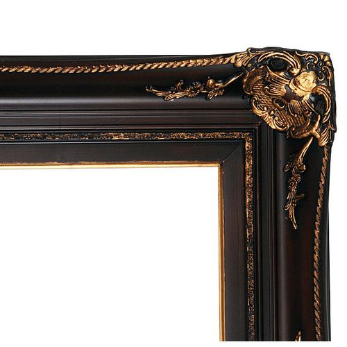 Club House Frame 12x16 Burgundy With Antique Gold Frame Floor Mirror Antique Gold