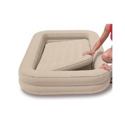 Details About Kids Travel Bed Inflatable Portable Folding Toddler Air Mattress Child Spare Cot