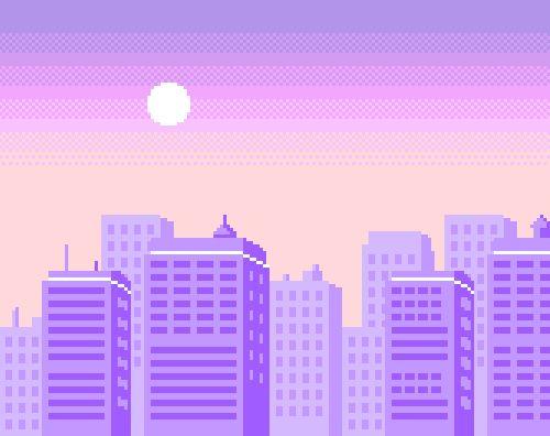 city #pixelart #vaporwave | Pixel art, Vaporwave, Night art