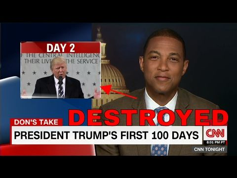Don Lemon Starts Laughing While Talking About Trump's First 100 Days - YouTube. Please RESIGN OR BE IMPEACHED BEFORE YOU DESTROY US!