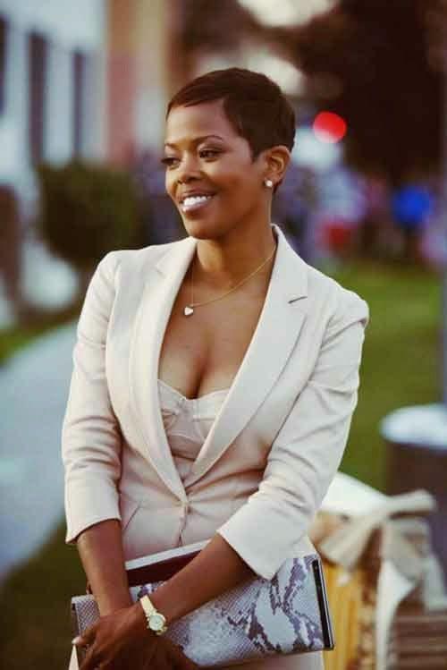 Ne pas avoir peur de couper les cheveux en taille courte coiffures courtes garde absolument - Coupe courte afro americaine ...