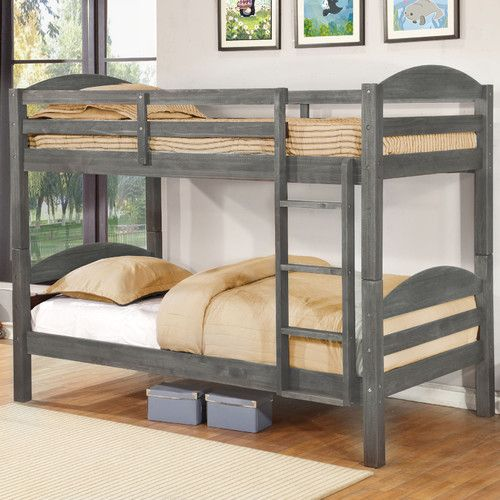 Bellmead Twin Over Twin Bunk Bed Twin Bunk Beds Bunk Beds With