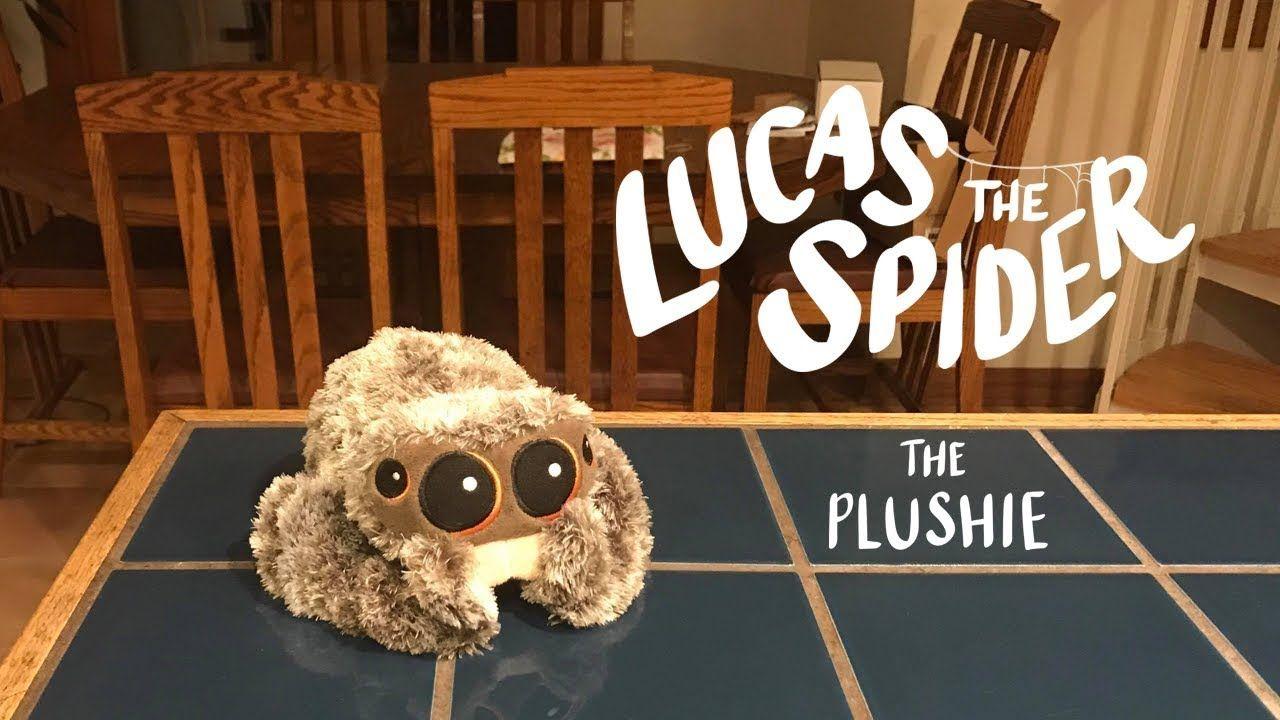 lucas the spider plush