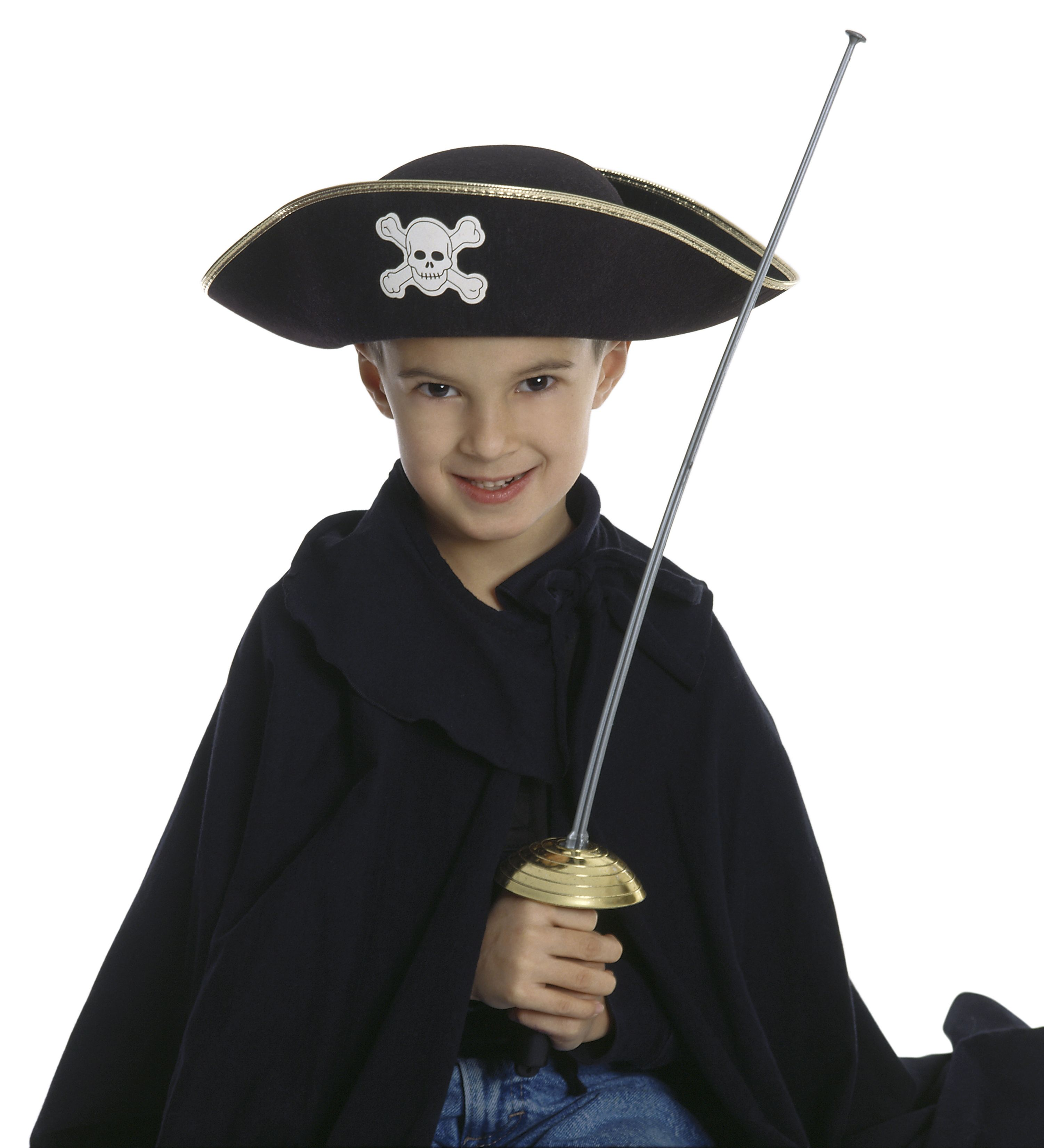 How to make a captain hat out of paper pirate
