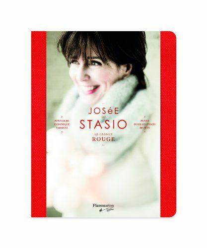 Le carnet rouge – Josée Di Stasio | Idée Cadeau Québec