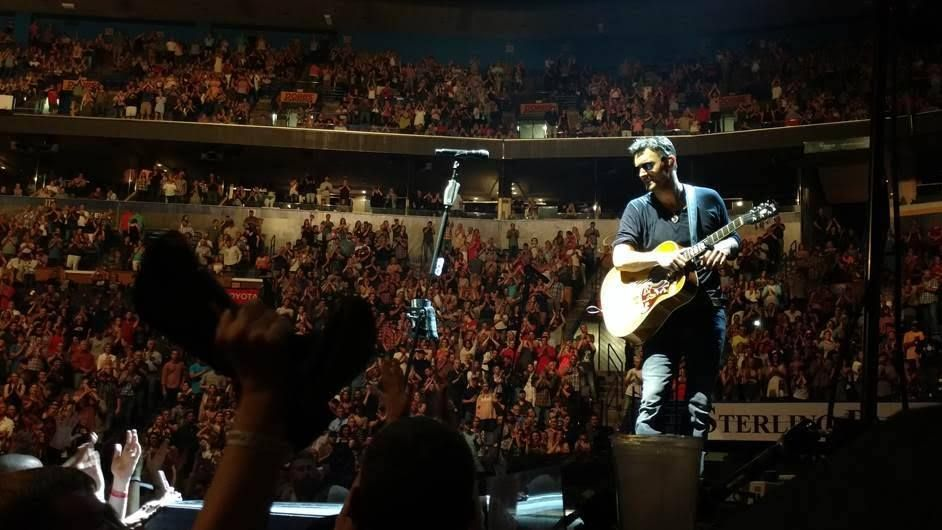 Looks like Eric Church is doing more than holding his own on this tour!