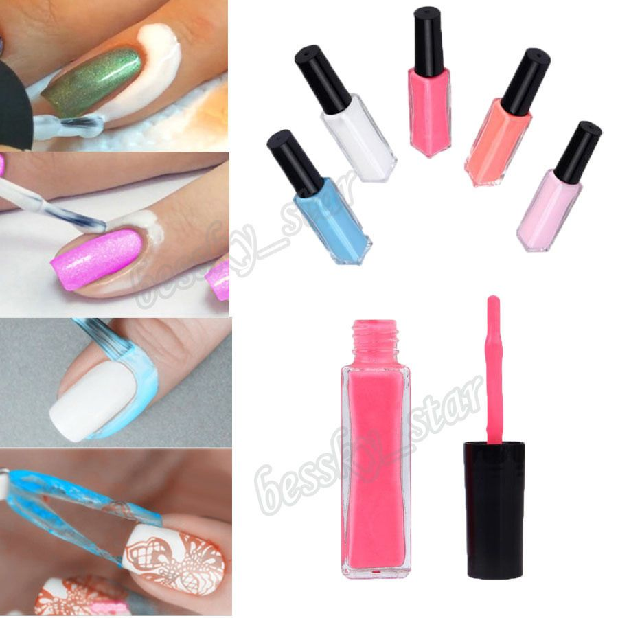 Details About Peel Off Liquid Nail Art Tape Latex Palisade
