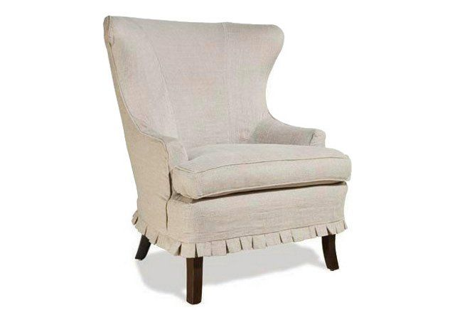 Rena Slip Cover Dining Chair - Oatmeal Linen   Dining ...