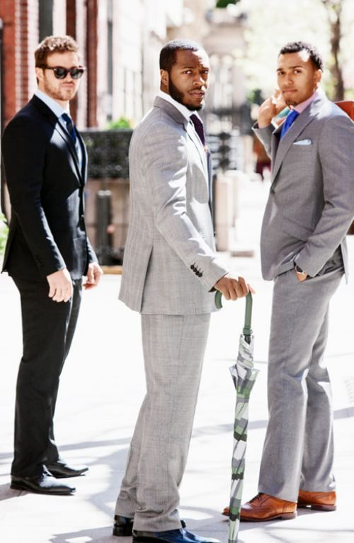 What color shoes go with grey dress pants
