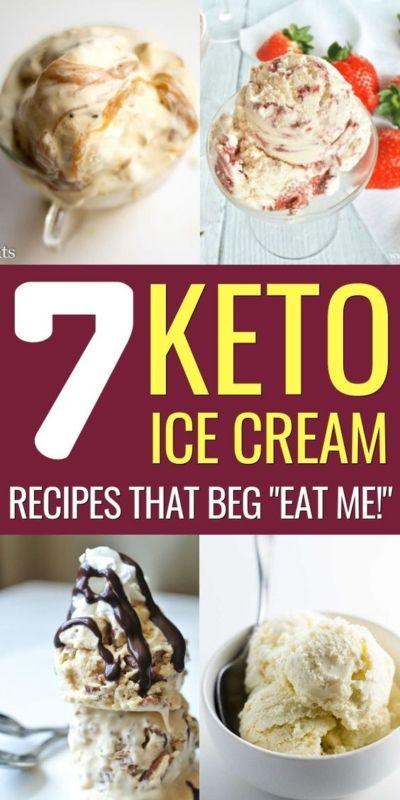 7 Easy & Delicious Keto Ice Cream Recipes For You #ketoicecream