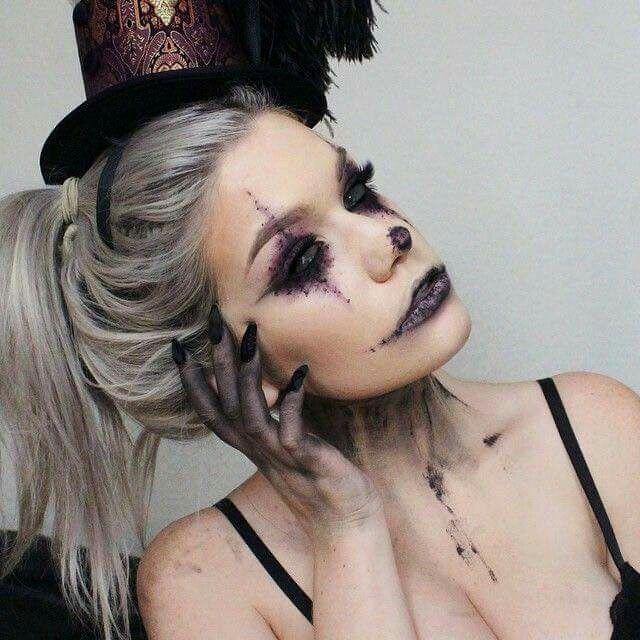 I love this clown \u2026 Pinteres\u2026 - scary diy halloween costumes