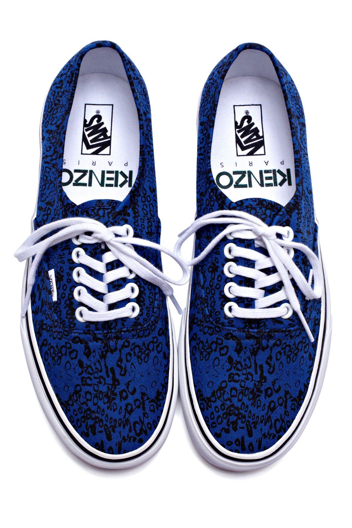 4ca2aa1186 Kenzo x Vans print sneakers