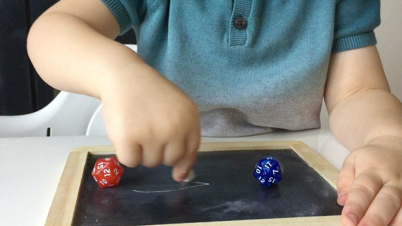Greater Than, Less Than Or Equal To Kids Activity With Dice | Kids ...