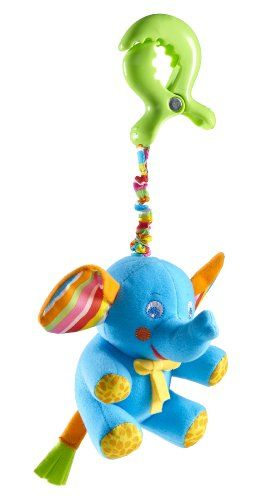$7.32 Tiny Love Tiny Smart Rattle, Blue Elephant. Product FeaturesSize: one size | Color: Blue ElephantSweet elephant will make baby giggle each and every timeIncludes large clip that can be attached to a gym, stroller or infant carrierPerfect size for baby to grasp Size: one size | Color: Blue Elephant