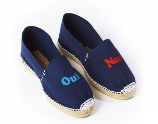 Oui Non Espadrilles | 11 Gifts for High School Grads Going on a Gap Year | http://www.hercampus.com/high-school/11-gifts-high-school-grads-going-gap-year