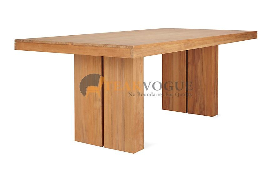 Bovec Rectangular Dining Table 160 Solid Wood Dining Tables