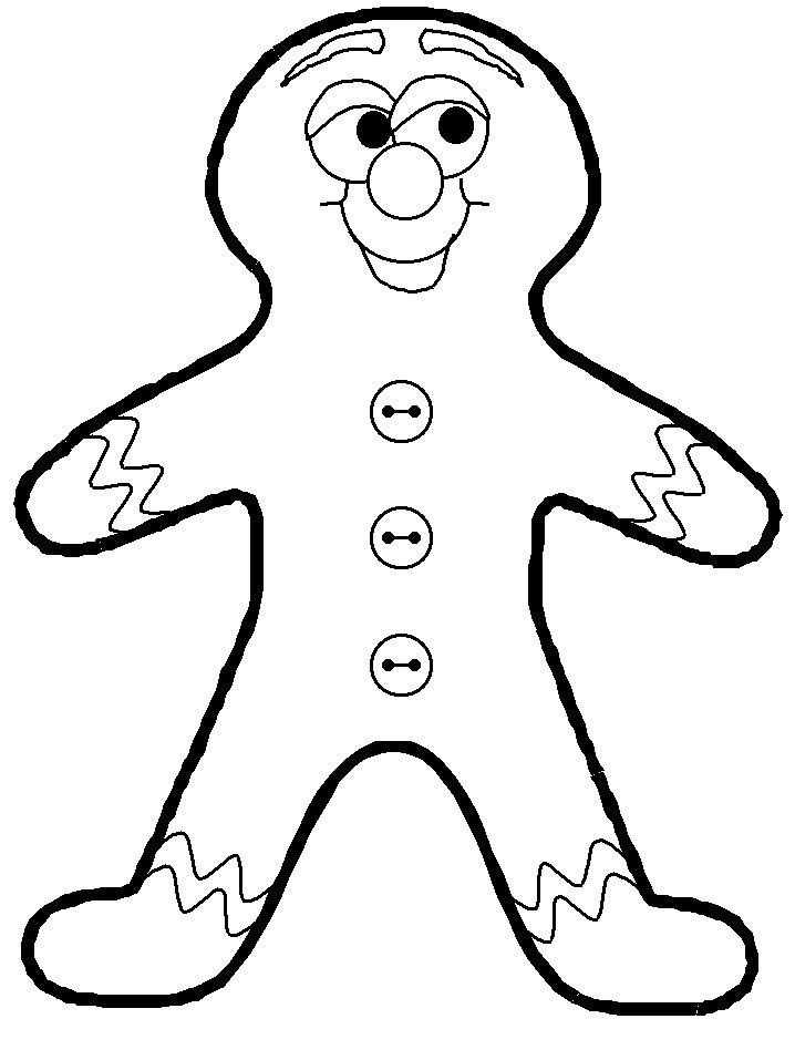 Ginger Bread Man Coloring Page For Kids Free Christmas Coloring Pages Kids Christmas Coloring Pages Printable Christmas Coloring Pages