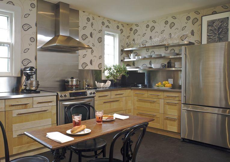 Younghuhinteriorsinteriors Modern kitchen wallpaper