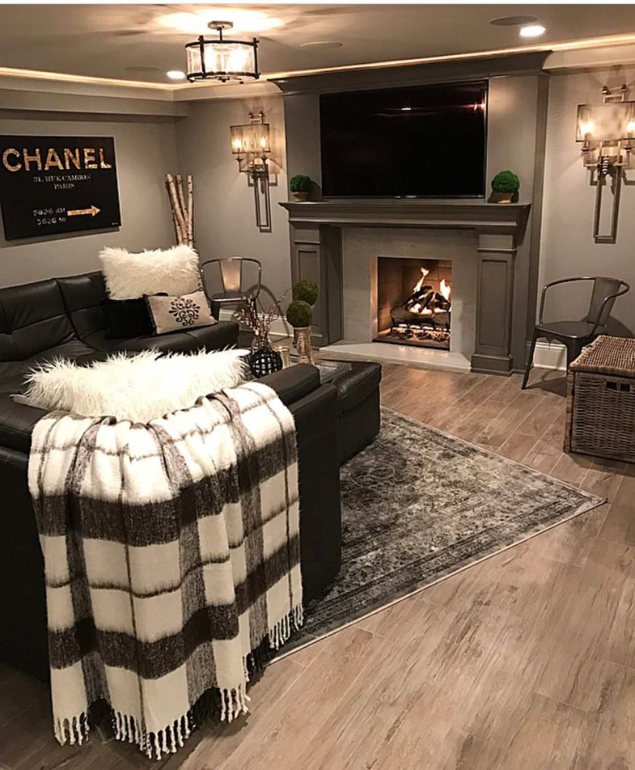 Perfect For A Cozy Basement