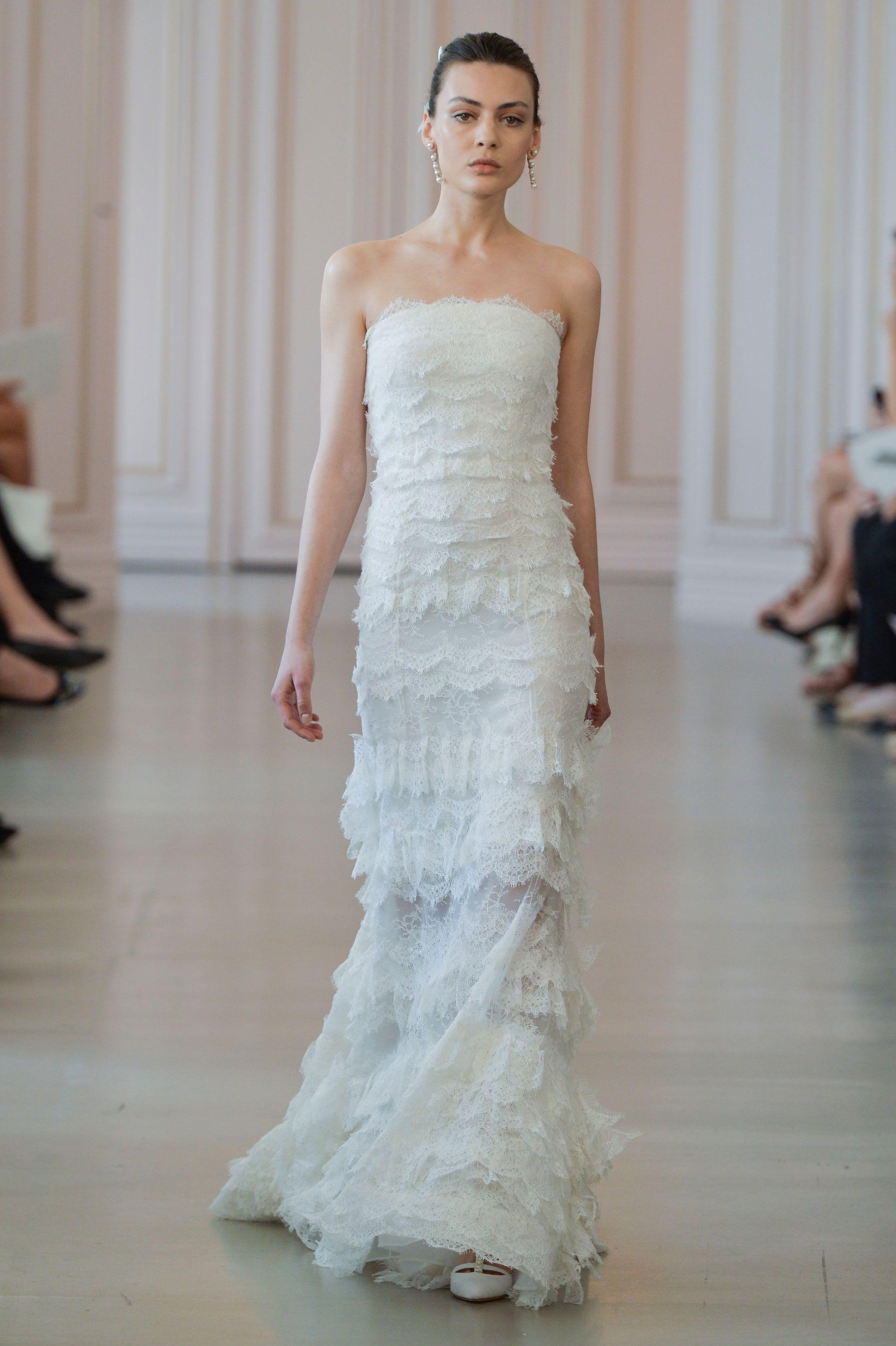 Suknie ślubne Oscar de la Renta wiosna-lato 2016, fot. Imaxtree ...
