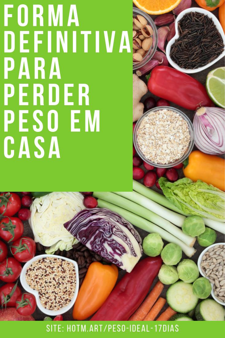 alimentos para perder peso rapidamente