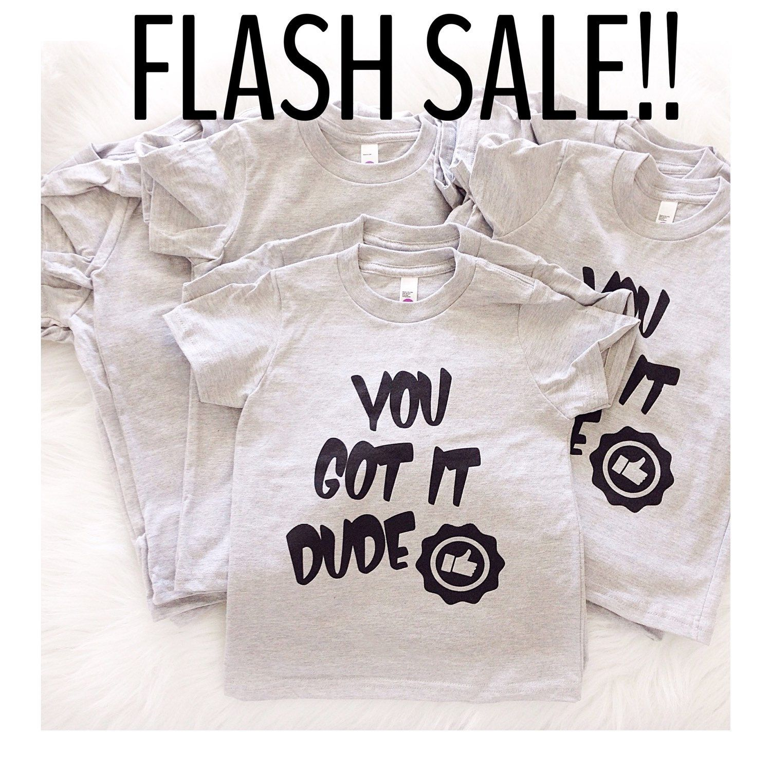 FLASH SALE!! Grab one of our You Got It Dude  tees for just $12!! Tees are Ready to Ship! Hurry deal ends soon! *no code needed, offer not valid on previous orders TAG A FRIEND WHO LOVES FULL HOUSE