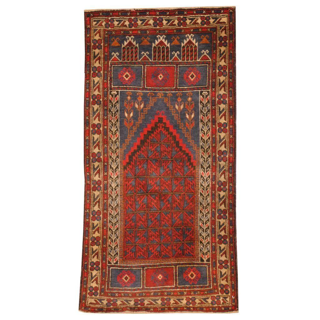 Refurbished Herat Oriental Semi-antique Afghan Hand-knotted Tribal Balouchi / Rust Rug