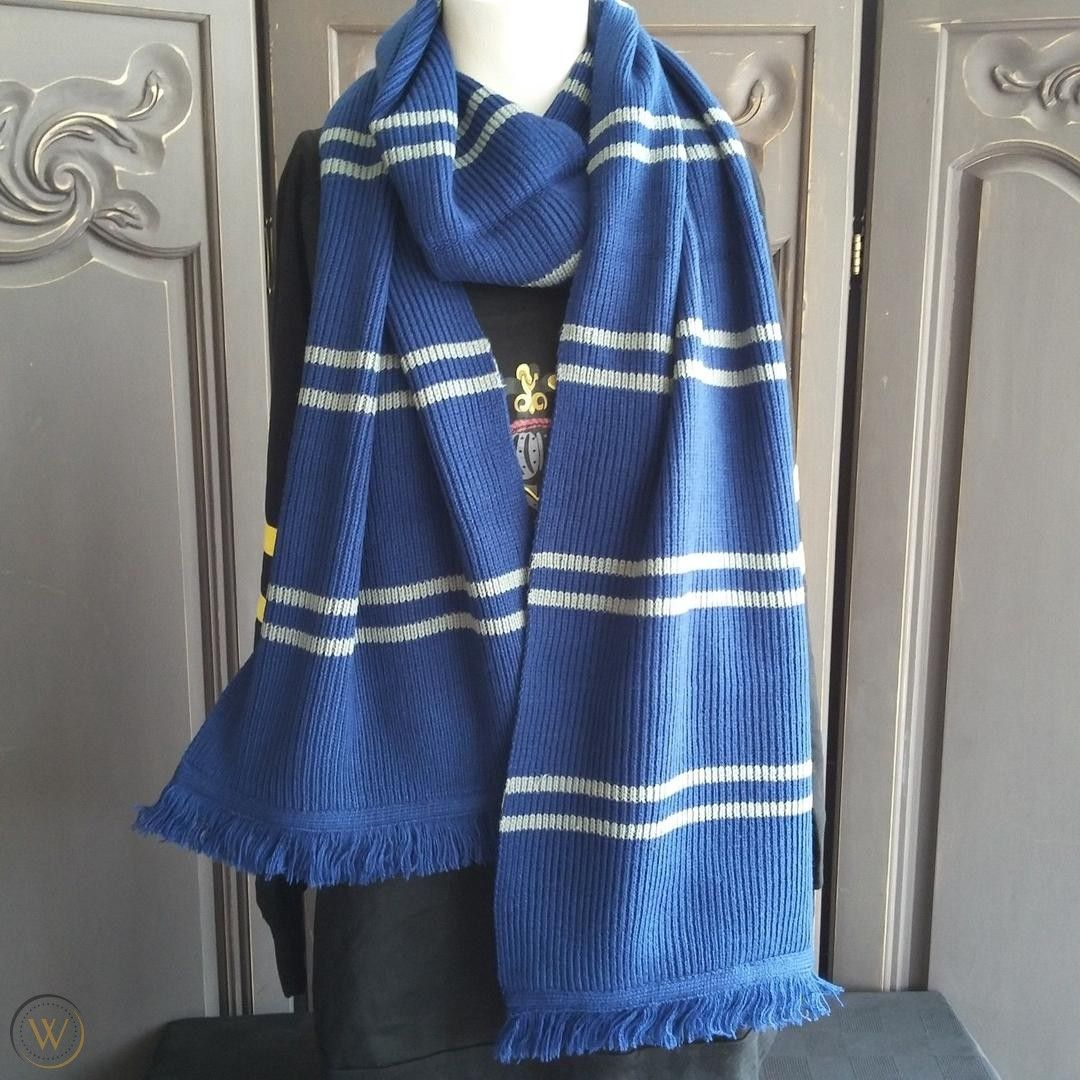 Ravenclaw Scarf From Universal Studios Ravenclaw Scarf Gryffindor Scarf Ravenclaw [ 1080 x 1080 Pixel ]