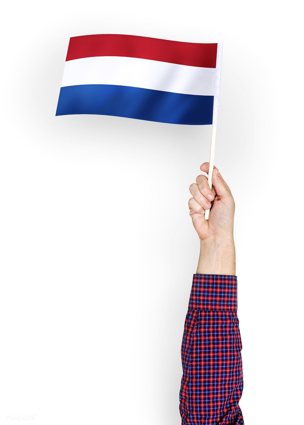 Download Premium Psd Of Person Waving The Flag Of The Netherlands 422554 Netherlands Flag Flag Flags Of The World