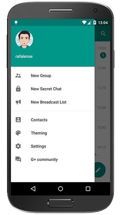 دانلود پلاس مسنجر Plus Messenger برای اندروید Broadcast